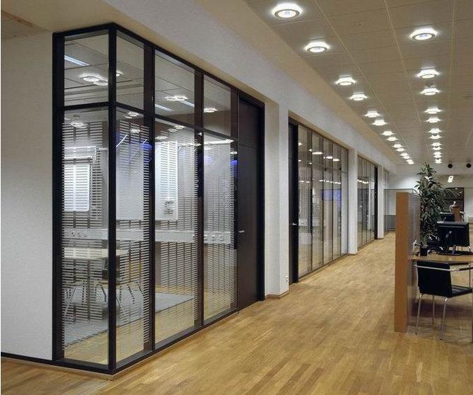 高端铝型材玻璃隔断19