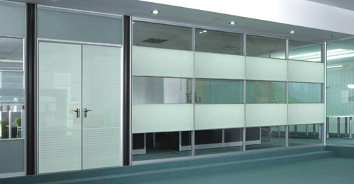 高端铝型材玻璃隔断18