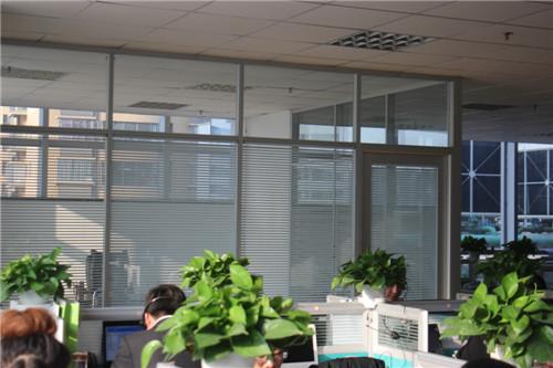 高端铝型材玻璃隔断7