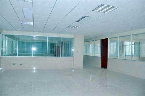 高端铝型材玻璃隔断4